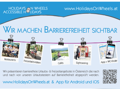Inserat - Holidays on Wheels